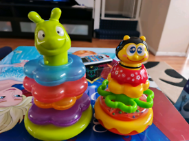 2 Toy Stackers - great condition