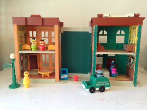 Vintage Little People Sesame Street