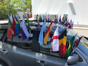 FIFA Flags.... WOooooow world cup 2018