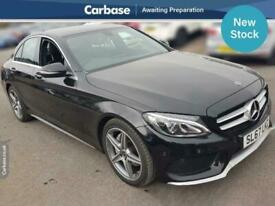 image for 2017 Mercedes-Benz C Class C220d AMG Line 4dr 9G-Tronic SALOON Diesel Automatic