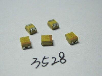 9 Values 45pcs Smd Tantalum Capacitor Assortment Kit 1uf220uf 3528 B Size
