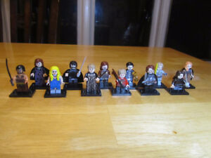 Game of Thrones,  12 pcs, Lego compatible
