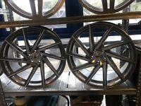 "20"" Stuttgart alloy wheels alloys rims tyre tyres 5x112 Mercedes seat skoda Audi Vw Volkswagen"