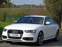AUDI A4 2.0TDI ( 177ps ) 2014 BLACK EDITION,1 OWNER