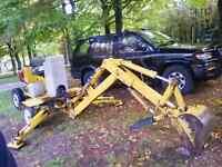 Homme a tout faire de l'excavation aux arbres!