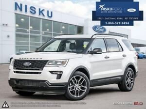 2018 Ford Explorer Sport 4WD  - Package - Sunroof