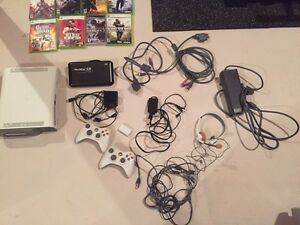 XBOX 360 HDD with controllers, games, and more Kitchener / Waterloo Kitchener Area image 2
