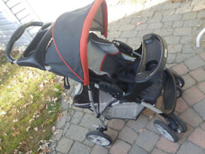 Graco's LiteRider Stroller  Plus FREE bug screen and rain cover