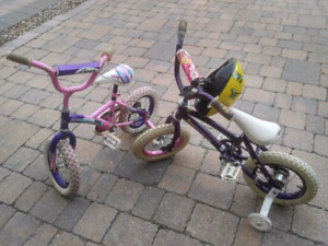 Kids bikes from 3 to 11 years old