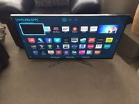 "Samsung 40"" Smart 3D LED Tv wi-fi Netflix YouTube warranty free delivery"