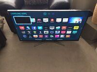 "Samsung 40"" Smart 3D LED Tv wi-fi Netflix YouTube warranty free delivery"