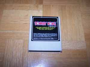 Coleco Nintendo DONKEY KONG video game cartridge for ATARI 2600