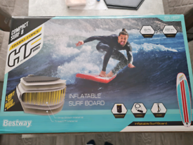 Inflatable surf/paddleboard new by Bestway