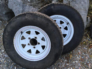 Free trailer rims on 5 bolts