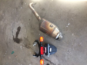 Factory exhaust and tail signal light assembly 2007 Honda CBR