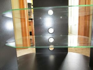 SONAX....DELUXE GLASS TV STAND
