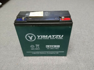 6 12 Volt Scooter Batteries