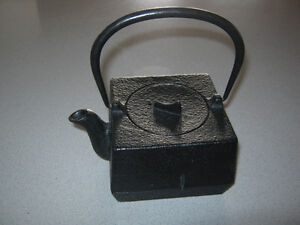 Cast Iron steeping Teapot..
