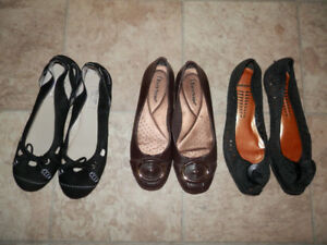Bag of good shoes (flats,heels,sneakers...)