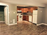 1 bedroom basement apartment for rent available sept 1st