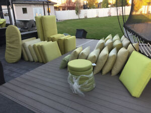 New and used sunbrella outdoor cushions