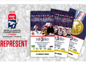 World junior tickets 2 sets lower level section 113 and 116