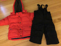 Baby Gap - boys snowsuit