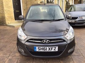 2011 HYUNDAI I10 1.3 5 DOOR 2 OWNERS FULL SERVICE HISTORY AIR CON SUPERB CONDITION INSIDE AND OUT