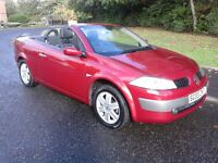 Renault Megane 1.9dci 6spd cc only 30,000 miles simply stunning !