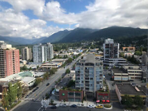 Furnished 1 Bedroom Apt. at CentreView in North Van, Lonsdale