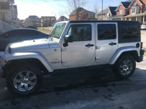 2012 Jeep Wrangler Unlimited Sahara, Certified
