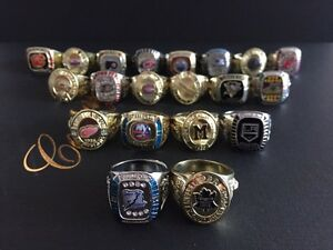 *Full Stanley Cup Rings Collection*