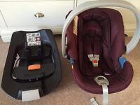 Mamas & Papas Aton Car Seat including Isofix Base