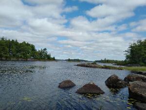 60 Acres plus Island on Molega Lake