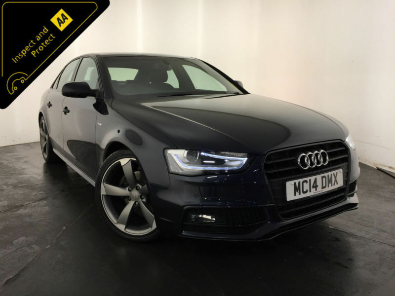 2014 audi a4 s line black edition quattro tdi 4wd auto 1 owner finance px in hinckley. Black Bedroom Furniture Sets. Home Design Ideas