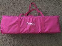 Pink RedKite Toddler Travel Cot