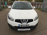 2012 Nissan Qashqai 1.6 N-TEC+ CVT 2WD 5dr