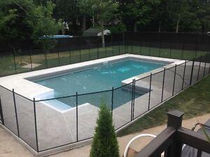 Clôture de piscine amovible sécuritaire Pool Guard