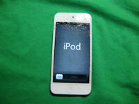 iPod Touch 4 Crack Screen Replacement $49.99