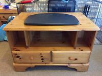 Ducal Solid Pine TV Cabinet