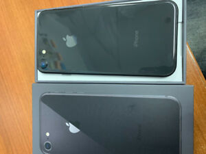 iPhone 8,64 gb,glass-bac. price over 800$ plus tax never used!