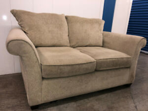 Beige Love Seat   -   Delivery