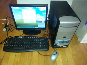 Emachines 3.2GHz 120GB 512MB Computer & Flatscreen Windows XP