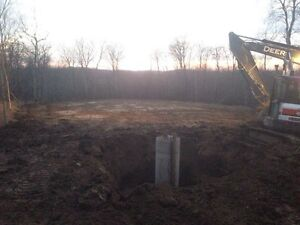 Water/Septic installs,Backhoe/Trackhoe services,Cistern cleaning Edmonton Edmonton Area image 4