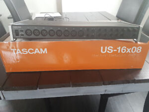 Tascam US-16×08  Audio Interface