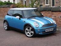FINANCE AVAILABLE!! 2005 MINI HATCH 1.6 COOPER 3dr, 1 YEAR MOT, HALF LEATHER,