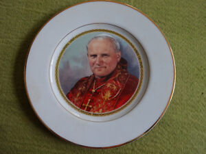 Pope John Paul II souvenir plate from 1984 papal visit to Canada Cornwall Ontario image 6