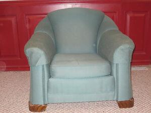 Vintage Overstuffed Chair