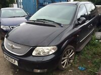 CHRYSLER GRAND VOYAGER LIMITED AUTOMATIC DRIVING WELL