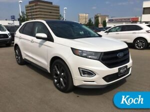 "2016 Ford Edge Sport  Nav, Moonroof, 21"" Prem Wheels, HIDs, Park"